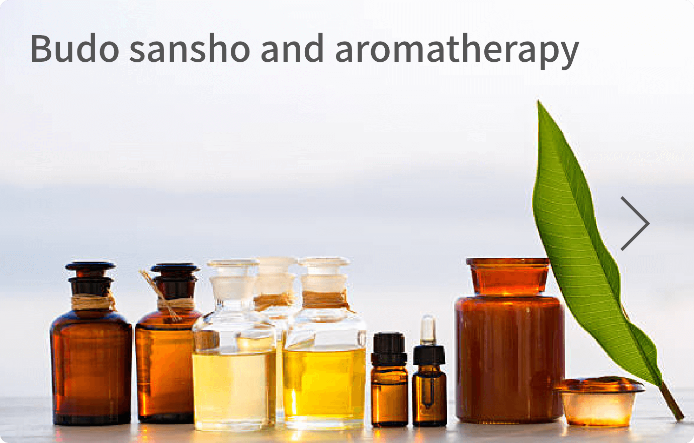 Budo sansho essential oil